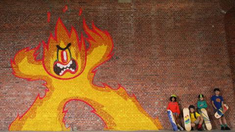 Ketnet Ident – Graffiti Pixilation
