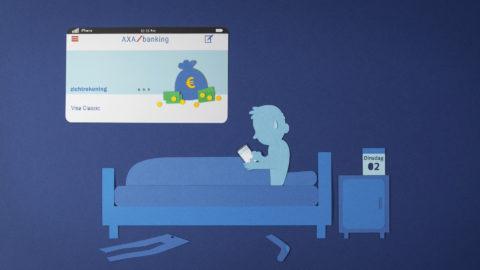 AXA Mobile Banking App